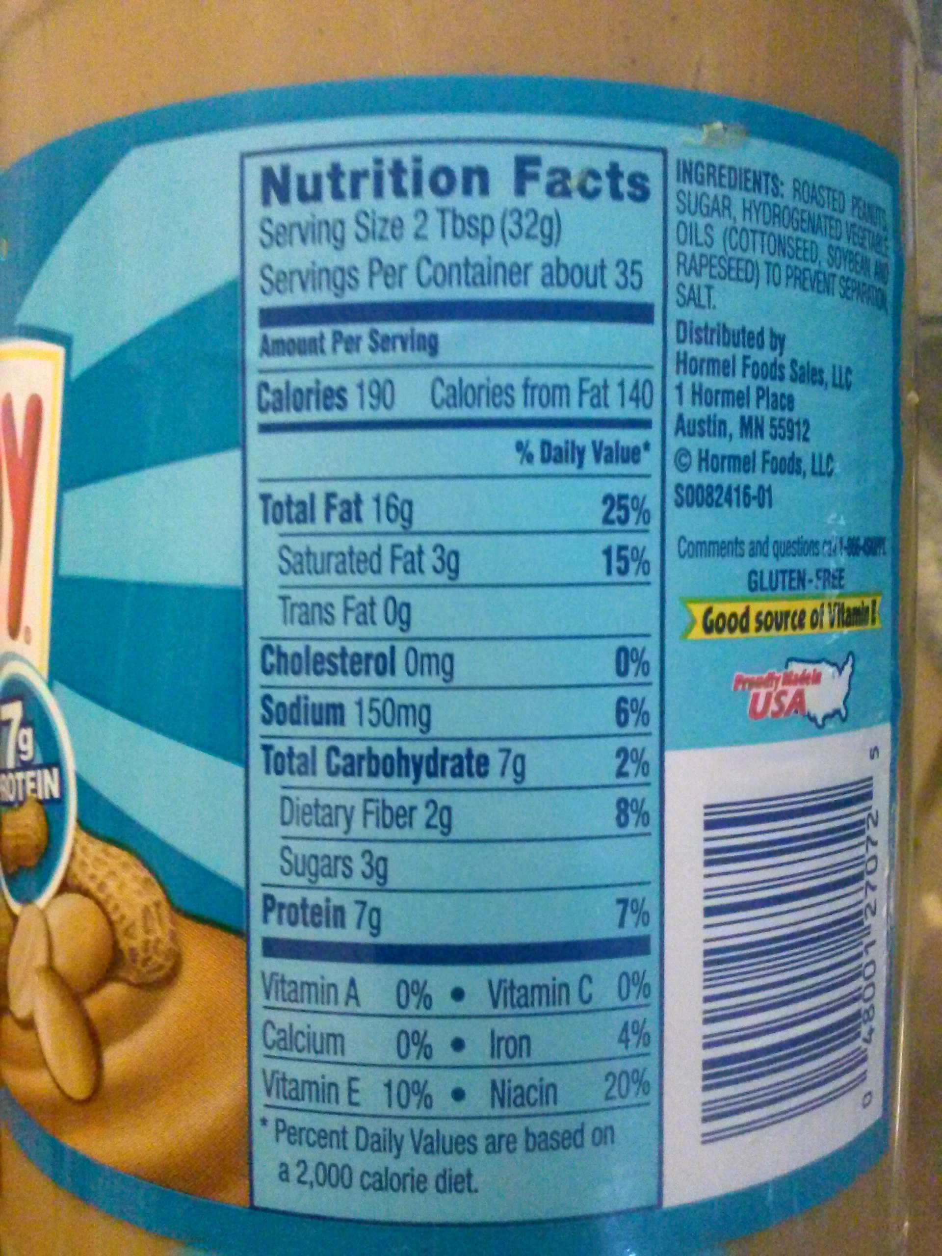 how to read nutrition labels for macros