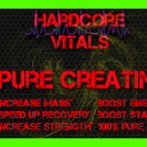 Pure Creatine Label